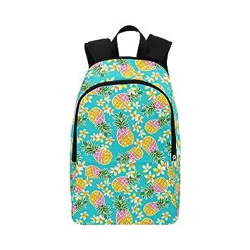 Hawaii verano piña Casual bolso de escuela Mochila de viaje mochila de senderismo mochila