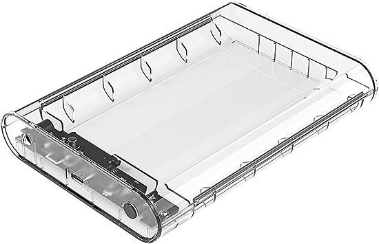 ORICO Carcasa con USB 3.1 Type c para Discos Duros HDD SSD de 3.5 ...