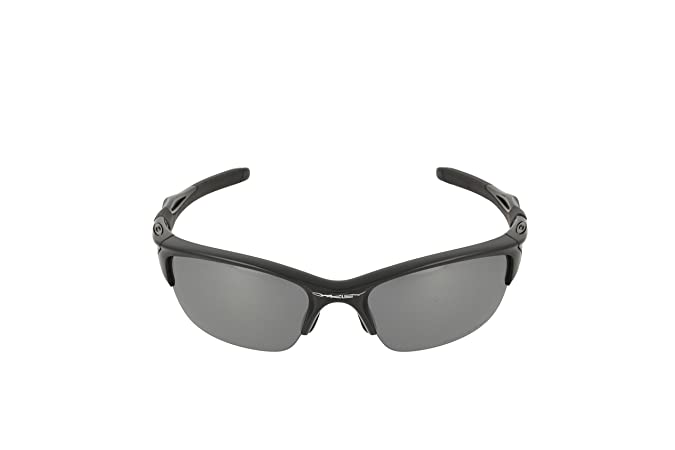 693d70ffb1 Amazon.com  Oakley Half Jacket 2.0 Adult Polarized Sport Designer Sunglasses Eyewear  - Polished Black Black Iridium One Size Fits All  Oakley  Clothing
