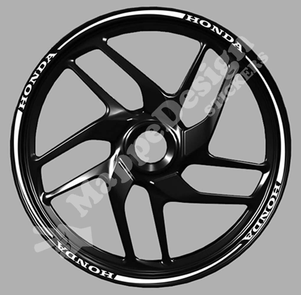 cb wheel strip sticker cbf Adesivi cerchi moto scritta honda per cbr hornet