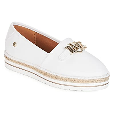 b517420db96 Love Moschino Espadrille Love Shoes White  Amazon.co.uk  Shoes   Bags