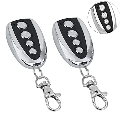 Foxboss Universal Remote Control Cloning,cloning Remote Control duplicator  Key 433 92mhz Copy Fixed Code or Learn Codes for Garage Opener Electric