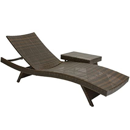 Swell Best Selling 2 Outdoor Adjustable Lounges With Wicker Table Pdpeps Interior Chair Design Pdpepsorg