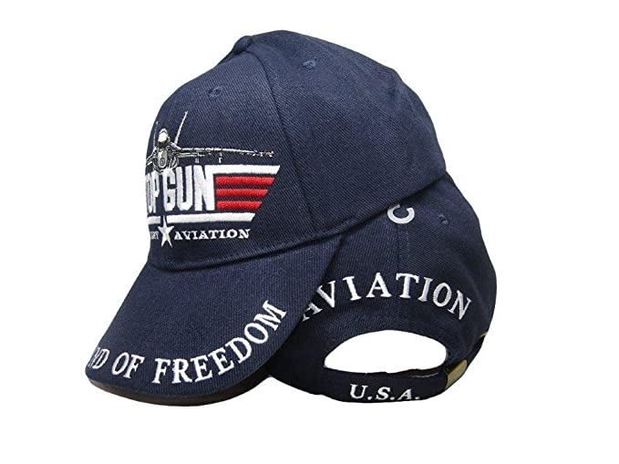3c4190f588868 Image Unavailable. Image not available for. Color  Moon Top Gun Black Dad  Hat Baseball ...
