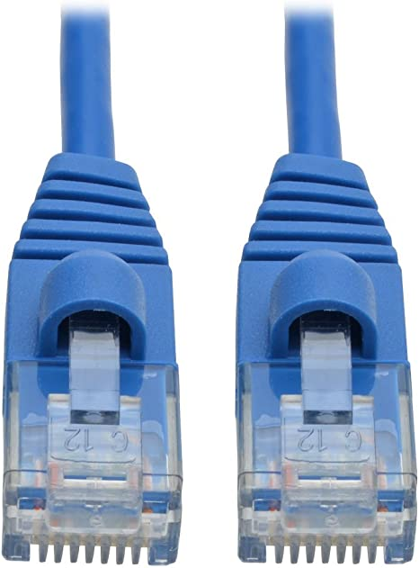 50Ft Cat6a 650Mhz Patch Cable Molded Boot
