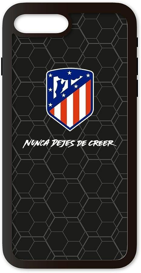 PHONECASES3D Funda móvil Atlético de Madrid Nunca Dejes de Creer Compatible con iPhone 7/8 Plus. Carcasa de TPU de Alta protección. Funda Antideslizante, Anti choques y caídas.: Amazon.es: Electrónica