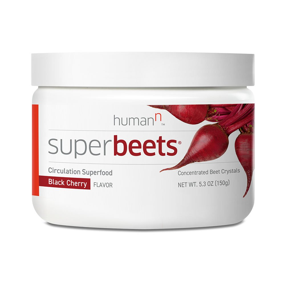 SuperBeets - Circulation Superfood - Premium Nitric Oxide Booster - Non-GMO Nitrate Rich Beet Root Powder - Black Cherry Flavor - 5.3 ounce 30 servings