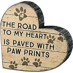 Primitives by Kathy Chunky Heart Shape Paw Prints