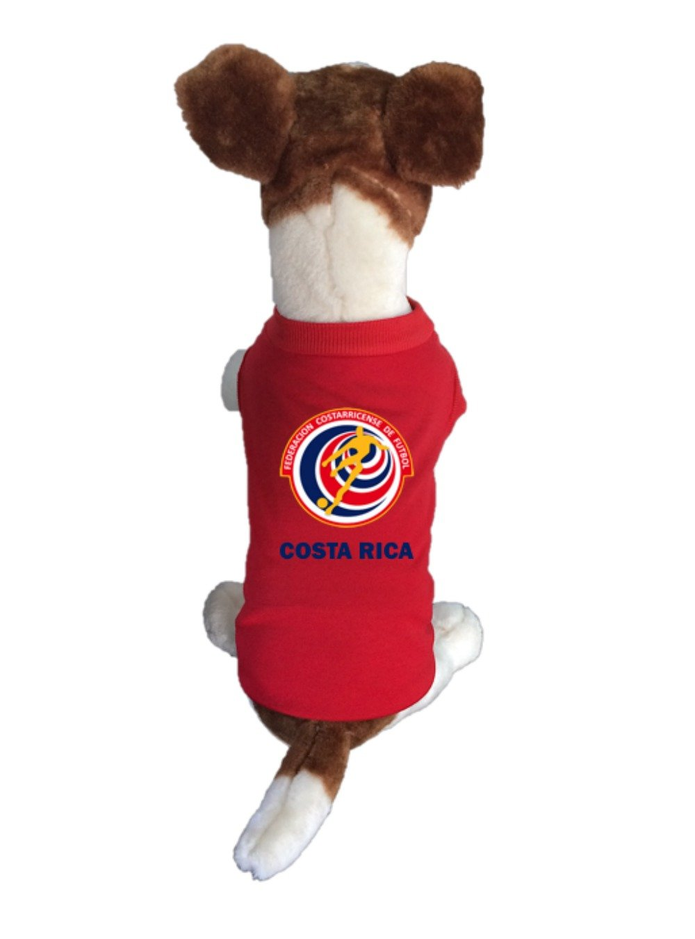Amazon.com : My Pet Boutique Costa Rica-Dog Soccer Jersey-Pet T-shirt- -breathable Fabric-makes Dog Comfortable-cozy up Costume to Celebrate The Russia ...