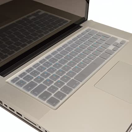 Protège Clavier Transparent Silicone Protection MacBook Pro