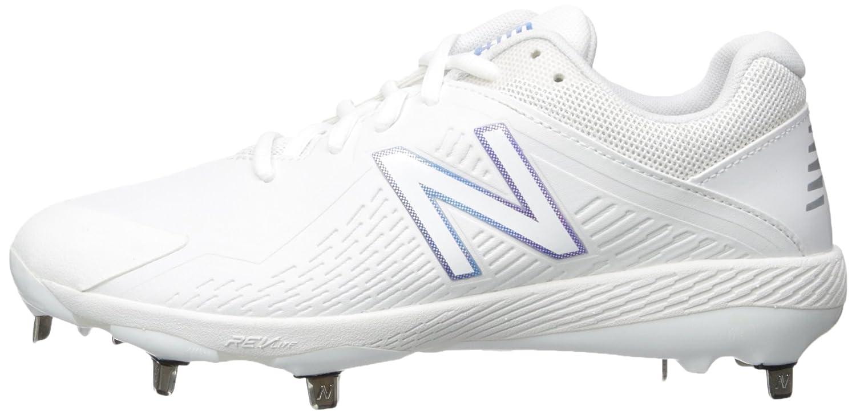 New Balance Women's FUSEV1 Metal Fast Pitch Softball Baseball Shoe B01NA8V0JJ 6.5 D US|White