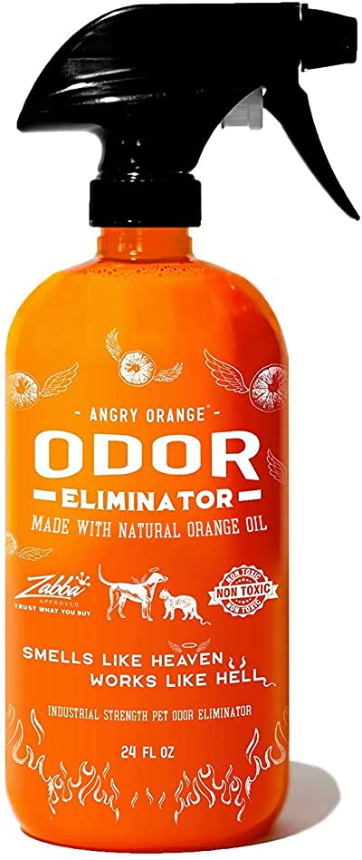 ANGRY ORANGE Ready-to-Use Citrus Pet Odor Eliminator Pet Spray