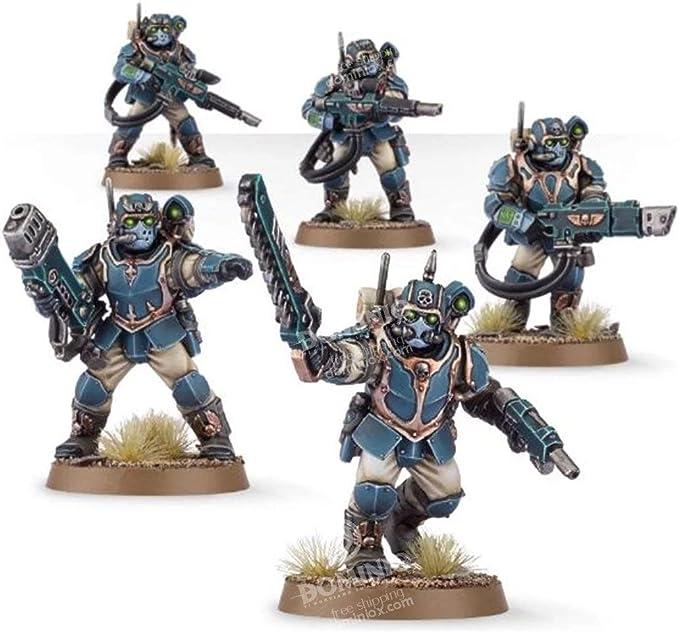 Vox Radio Backpack Warhammer 40k Astra Militarum Tempestus Scion Armory Bits