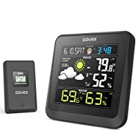 Deals on Govee Wireless Weather Station with Color LCD Displasy