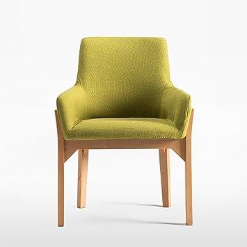 Duo Mesa de Ordenador Sillas de Comedor Asiento Suave y sillas de ...