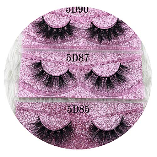 f41b96ef669 5d Eyelashes Thick HandMade Full Strip Lashes Rose Gold Cruelty Free Luxury  Makeup Dramatic Lashes 3D