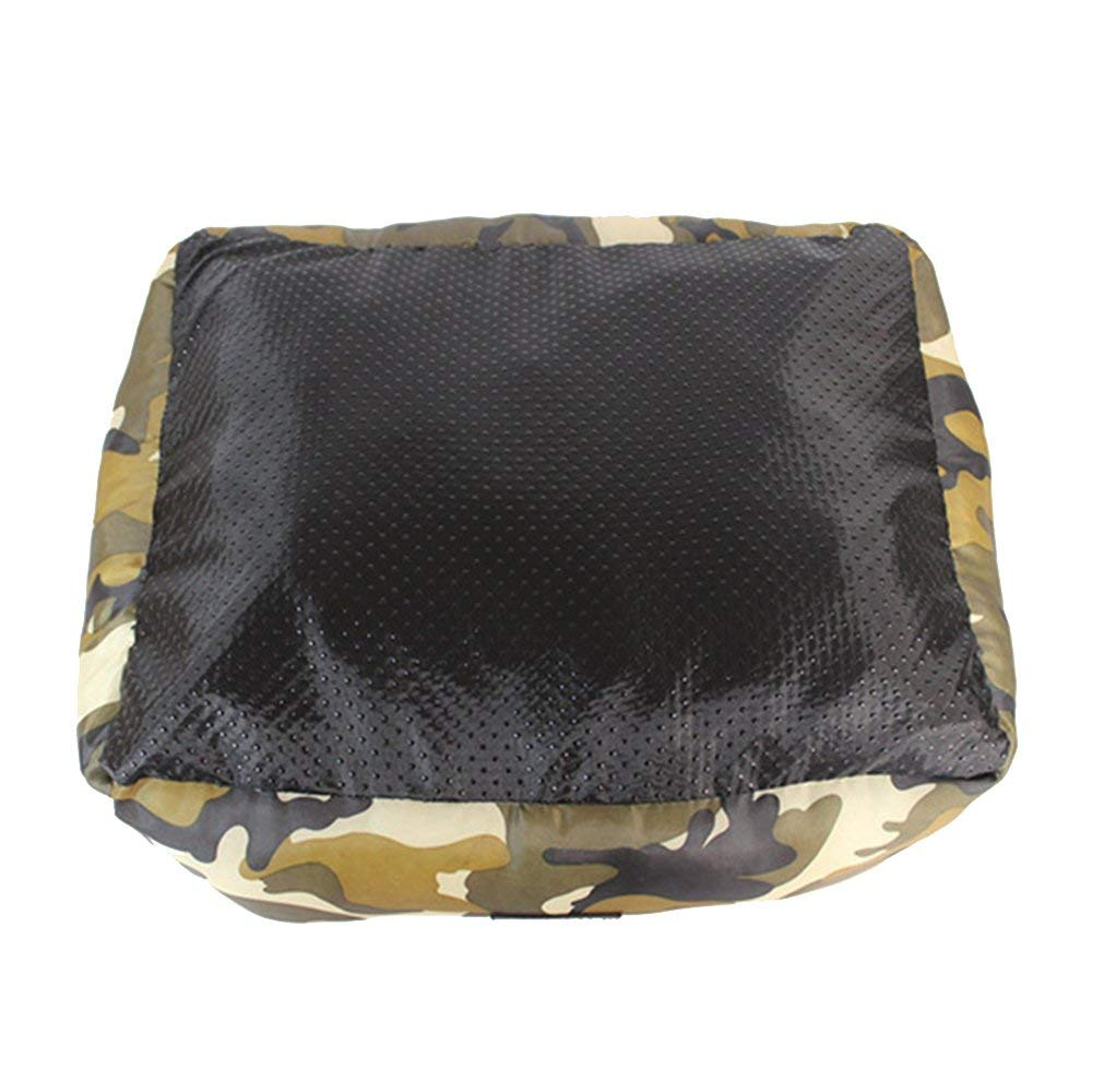 KYCD Cuccia per Cani Sfoderabile Cuscino Rettangolare in Tessuto Oxford Impermeabile Lavabile in Lavatrice,50 40 18Cm