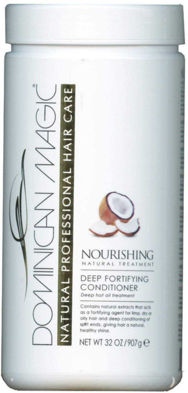 Dominican Magic Deep Fortifying Conditioner, 32 oz (Pack of 2)