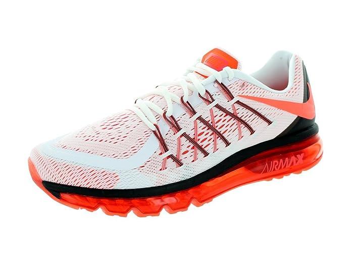 Real Nike Air Max 2014 Cheap sale White Black Laser Crimson