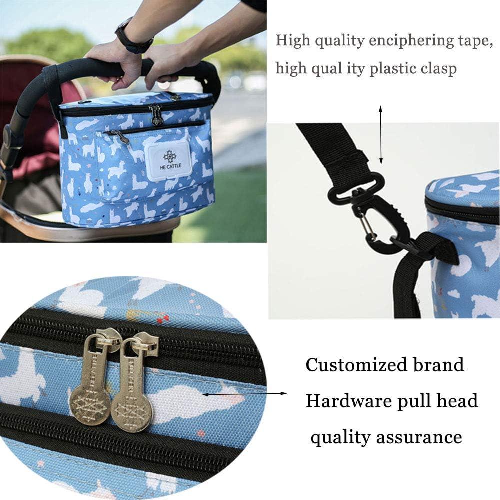 Stroller hanging bag Sac De Rangement pour Poussette B/éb/é Sac Chauffe-biberon pour B/éb/é Sac De Rangement pour Poussette B/éb/é /