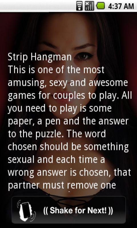 strip hangman Sexy