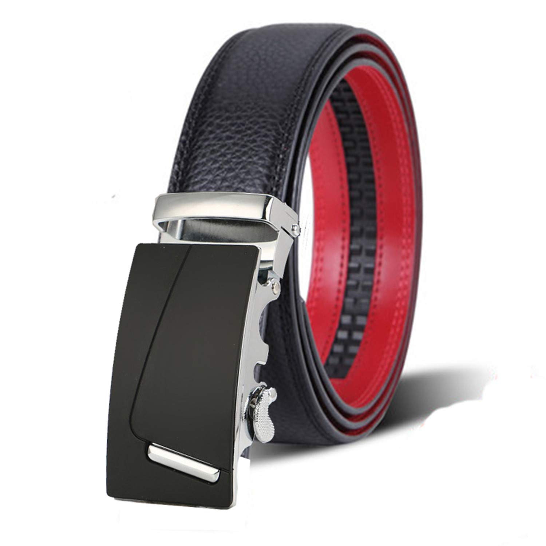 Habitaen Mens Belts Metal Buckle Man Jeans Pants Genuine Leather Belt
