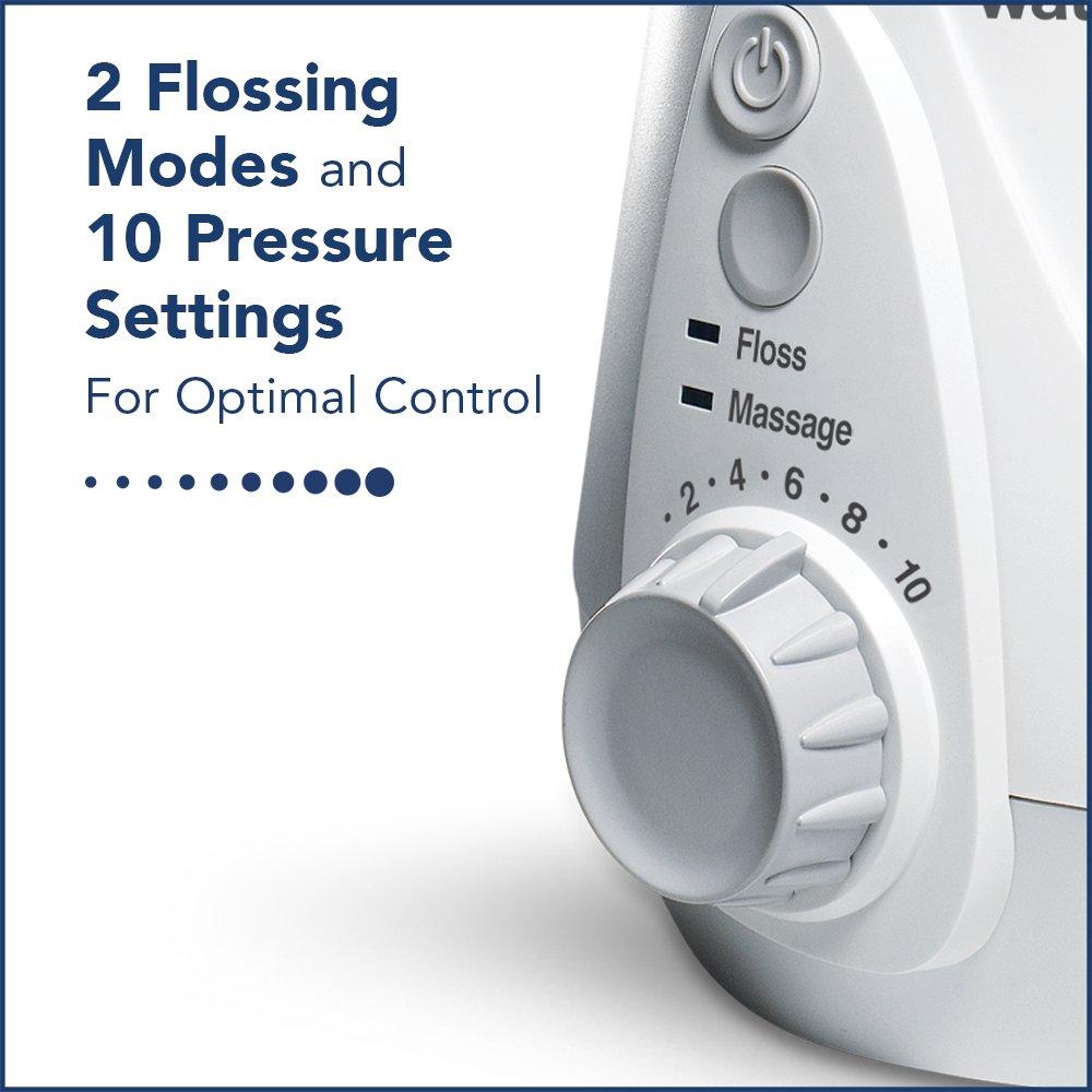 Waterpik Water Flosser Electric Dental Countertop Oral Irrigator For Teeth – Aquarius Professional, WP-660 White by Waterpik (Image #10)