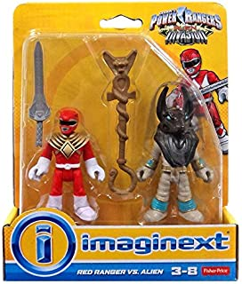 Imaginext Saban Power Rangers Alien Invasion Red Ranger vs Alien