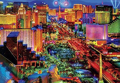Buffalo Games - Viva Las Vegas - 2000 Piece Jigsaw Puzzle by Buffalo Games