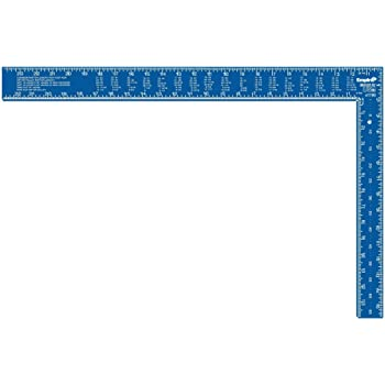 Empire Level e1190 16-Inch by 24-Inch Professional Framing Square ...