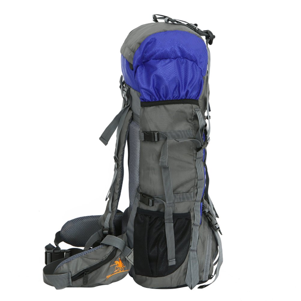 2fc9d70a3 Amazon.com: Free Knight 60L Internal Frame Backpack Hiking Backpacking Packs  for Outdoor Hiking Travel Climbing Camping Mountaineering (Green): Sports &  ...