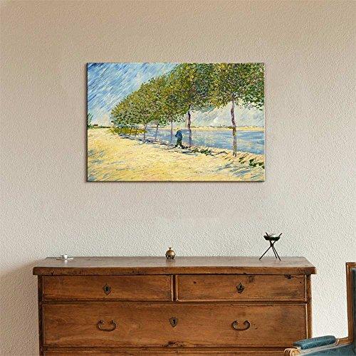 Along The Seine by Van Gogh