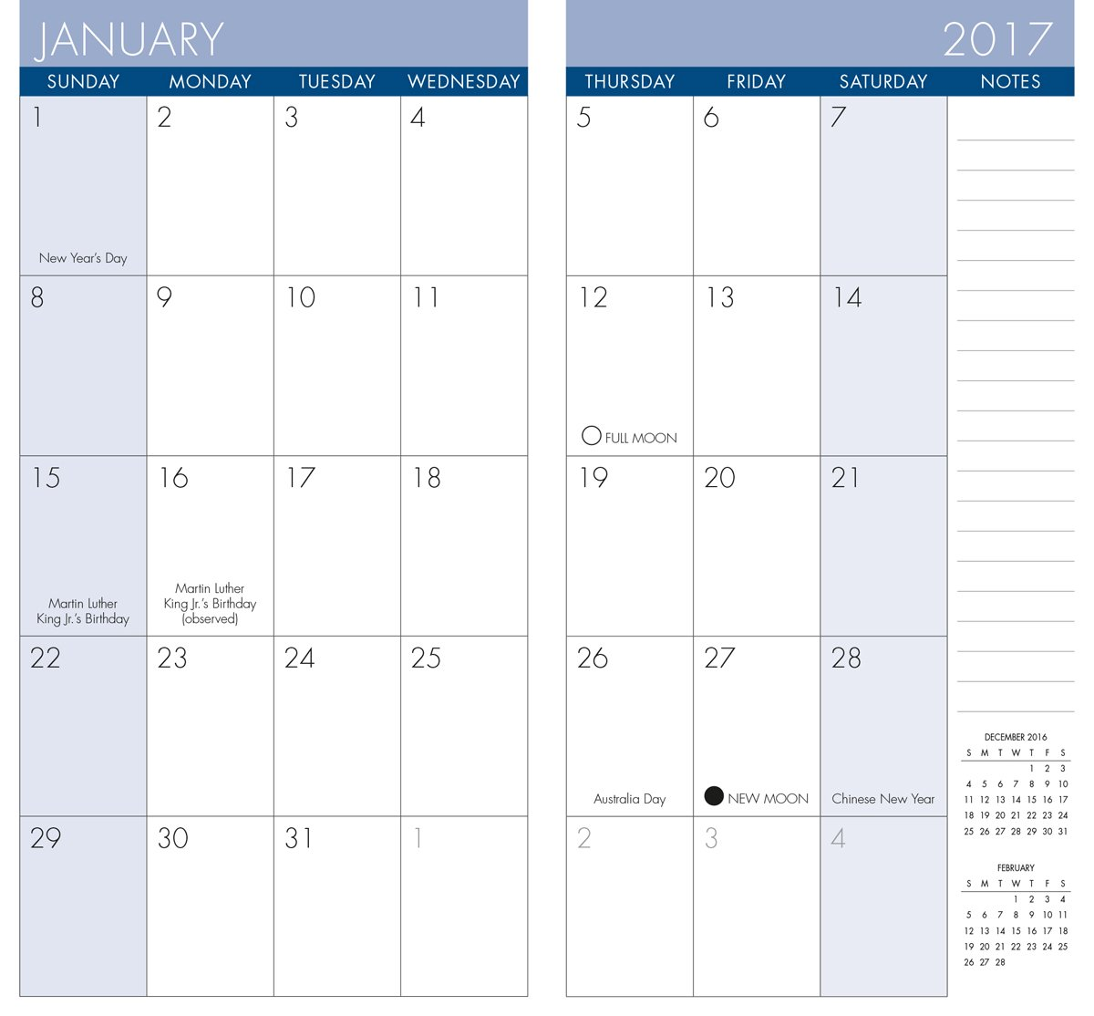 Fox By Debbie Mumm 2017 Checkbook2 Year Pocket Planner Calendar
