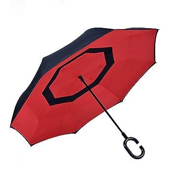 Au Vent À Double Inversé Résistant Réversible Et Couche Parapluie QxCtsdhr