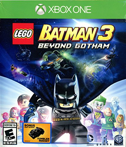 LEGO Batman 3: Beyond Gotham - with Bonus Lego Batman Tumbler Miniset - Xbox One [Xbox One] ...