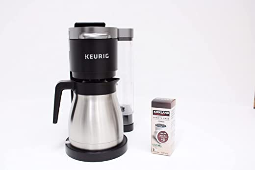 Keurig K-Duo Plus Coffee Maker, with Single Serve K-Cup Pod and 12 Cup Carafe Brewer, Black (12-Cup Thermal Carafe and 15 K-Cup Pods included)