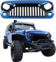 Handle for 1987-2018 Jeep Wrangler YJ TJ JK JKU, Jeep Sport Jeep Wrangler Unlimited, Sahara, Rubicon bosmutus blue Wrangler Grab Handles Handle Bag 1PC Roll Bar Grab Handles Grip