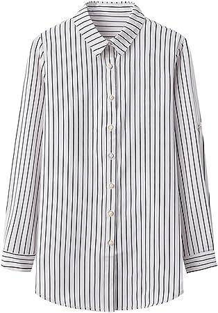 A-HXTM Camisa con Estampado de Moda Blusa de Mujer Blusas y ...