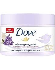 Dove Crushed Lavender & Coconut Milk Exfoliating Body Polish, 298 Grams