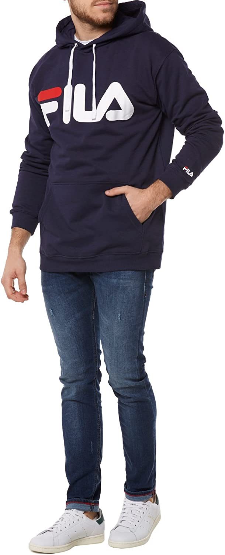 Fila Classic Logo Hoody, Sweatshirt 003peacoat