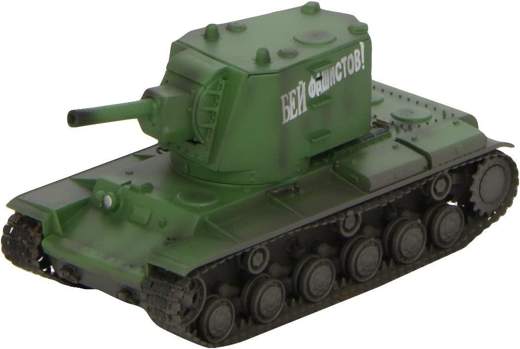 Easy Model Kv-2 Heavy Tank-Russian Army Die Cast Military Land Vehicles