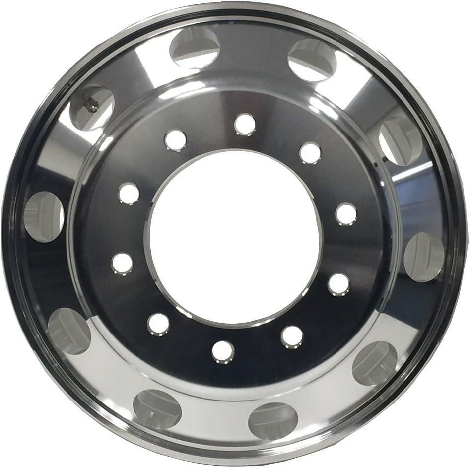 Amazon Com Motorhome A227507 Aluminum Wheels 22 5 X 7 5 Hub Pilot Pcd 10x285 75 Alcoa Style Both Side Polish Finished For All Position Automotive