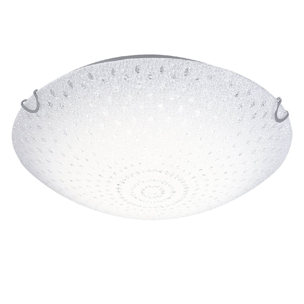 E27 Round Ceiling Lights for Hallway Flush Surface Mounted Downlights Fitting for Bathroom, Kitchen, Basement, Cabinet, Kids Room, Stairs, Utility Room, Bookcase Lighting IP44 Ø 23cm Bookcase Lighting IP44 Ø 23cm Auen Lighting