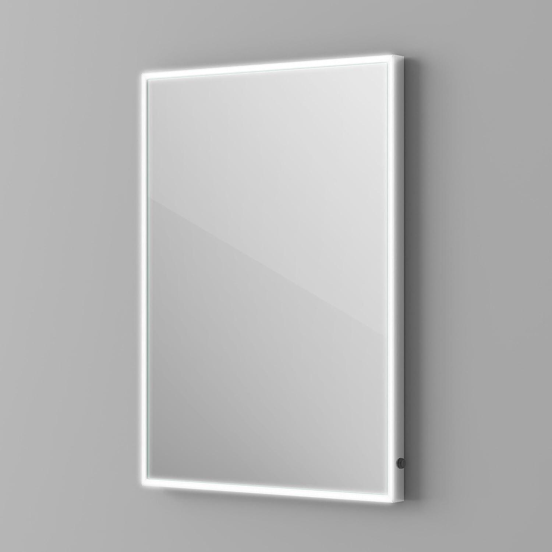 500 x 700 mm Designer Illuminated LED Bathroom Mirror Light Sensor + ...