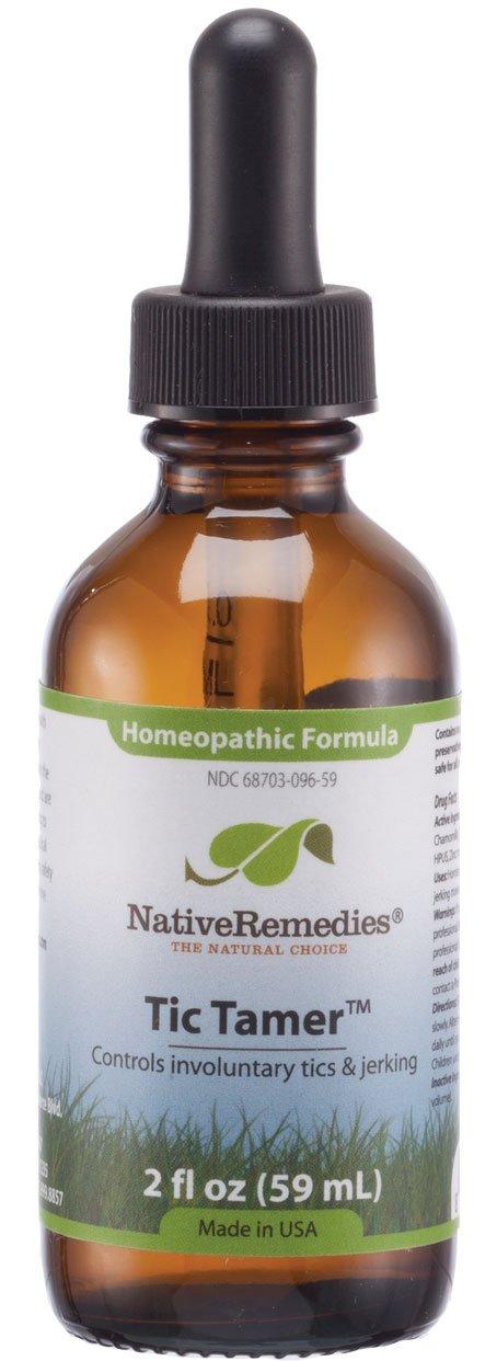 Native Remedies Tic Tamer, 2 fl oz Bottle