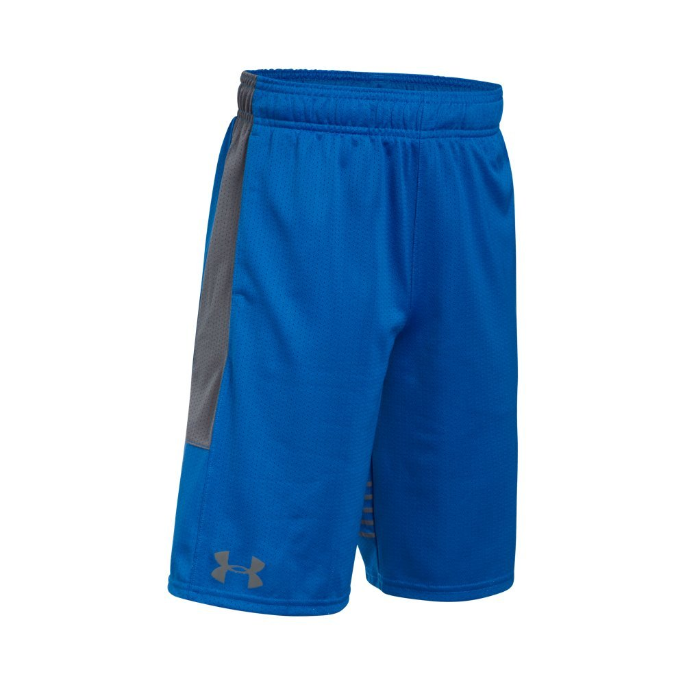 Under Armour Boys' Train To Game Shorts,Ultra Blue (907)/Graphite, Youth X-Large