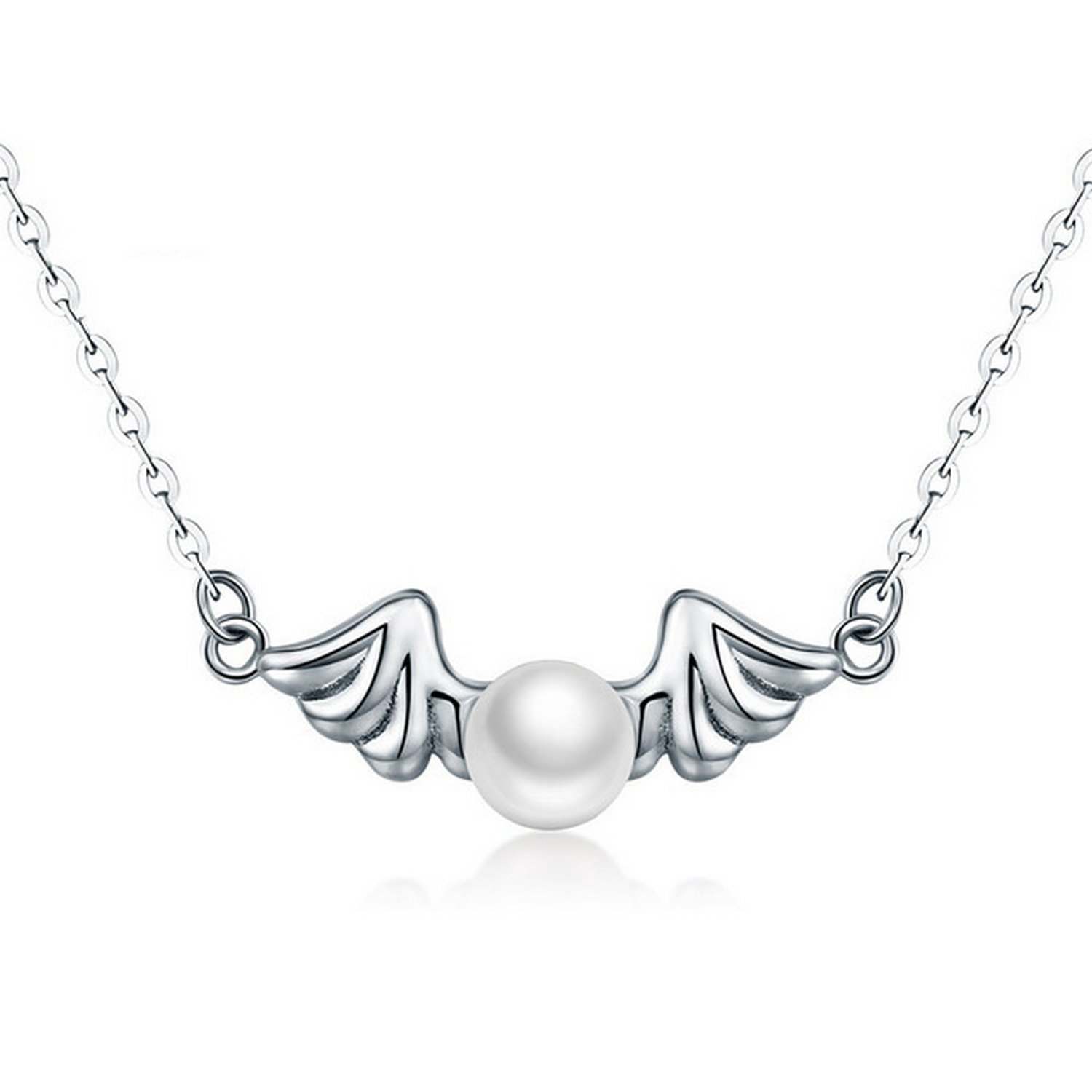 MMC Angle Water Drop Silver Pendants Necklaces