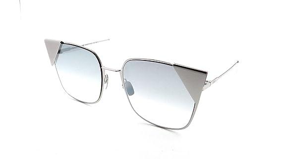 Amazon.com: anteojos de sol FENDI FF 191/S 0010 paladio/IC ...