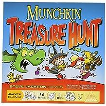 Steve Jackson Games Munchkin Treasure Hunt Card Game