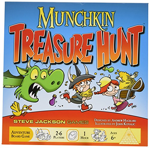 Munchkin Treasure Hunt Card Game
